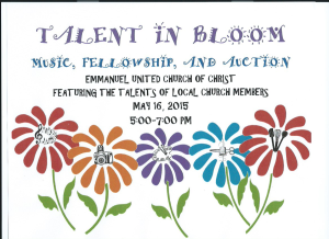 Emmanuel UCC Talent in Bloom
