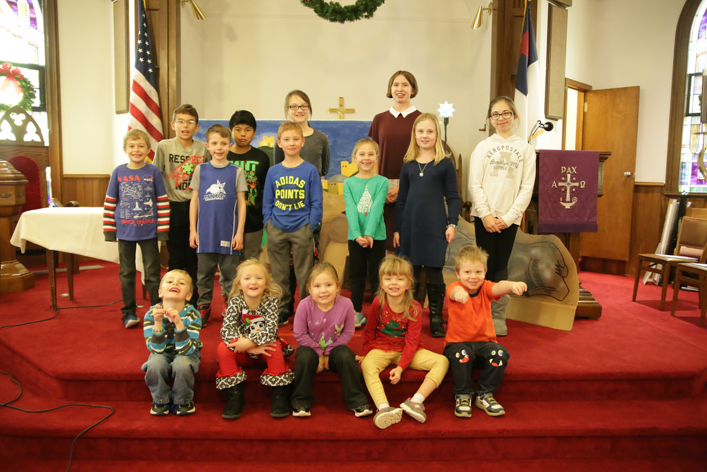 Emmanuel Sunday School Party 12/16/2017