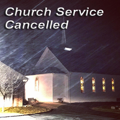 Emmanuel UCC cancelled January 14, 2018